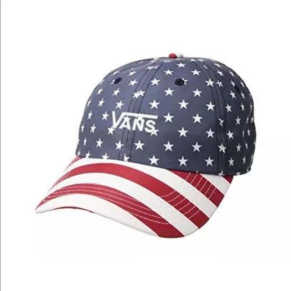 9a3cbd73 Vans Accessories | Mens Court Side Print Hat Stars And Stripes ...